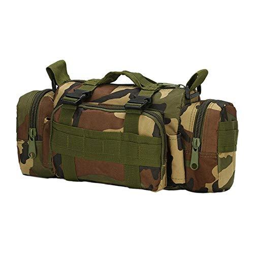 Camouflage Al Bolsa Cintura Jungle Ajustable La Aire Hombro Correa Bandolera Libre Deportes Roadromao De Impermeable q5xBwFx6