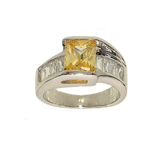 yellow canary ring - 9