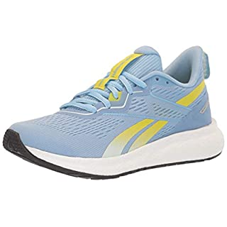 Reebok Women's Forever Floatride Energy 2, Fluid Blue/Glass Blue/Hero Yellow, 7.5 M US