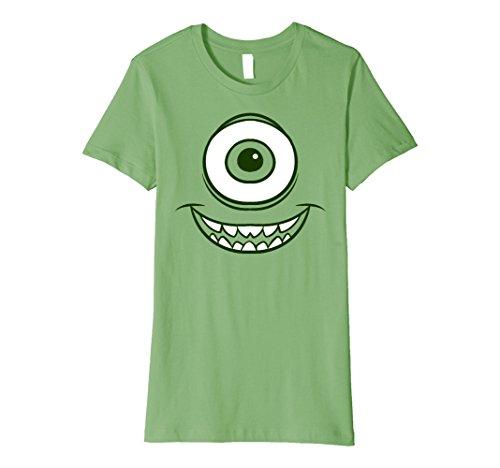 Womens Disney Pixar Monsters Inc. Mike Wazowski Eye Premium T-Shirt Medium (Mike Wazowski Shirt)