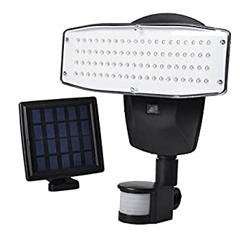 VIBELITE Solar Lights outdoor 80 LED Solar Powered Security Lights Waterproof Outdoor Motion Sensor Lighting for Wall , Patio, Garden, Landscape, Deck, Shed, Lawn, Fencing and Pathway