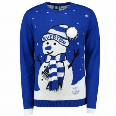 Everton Christmas Sweater - Unisex Everton FC Christmas Jumper