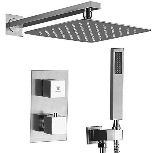 HIMK Shower System with High Pressure Rainfall Shower Head