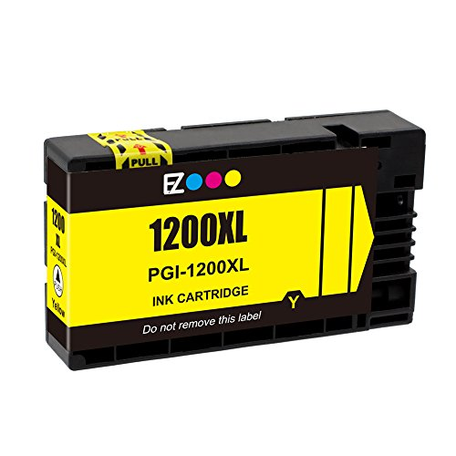 E-Z Ink (TM) Compatible Ink Cartridge Replacement For PGI-1200 XL PGI-1200XL PGI1200XL High Yield (2 Black, 1 Cyan, 1 Magenta, 1 Yellow) 5 Pack Works With MAXIFY MB2020 MB2320 Photo #2