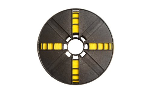 MakerBot PLA Filament, 1.75 mm Diameter, Large Spool, Yellow