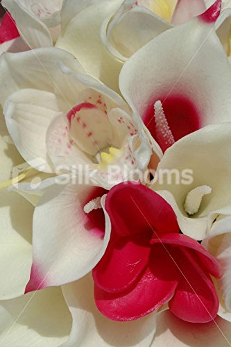 Tropical-Bridal-Bouquet-with-Frangipanis-Orchids-Lilies