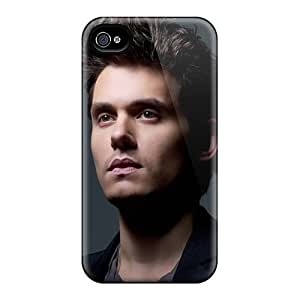 New Diy Design John Mayer For Iphone 4/4s Cases Comfortable For Lovers And Friends For Christmas Gifts