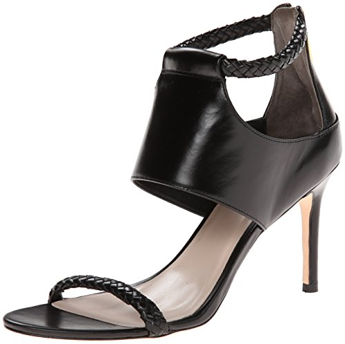 Cole Haan Women's Lise Sandal,Black Leather,8  B US by Cole Haan