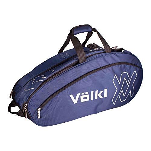 (Volkl Team Combi Tennis Bag Navy and Silver (- TennisExpress))