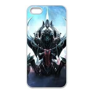 Nyx Assassin Dota 2 La Muerte Súbita Killer 94255 iPhone 4 4S caja del teléfono celular funda blanca del teléfono celular Funda Cubierta EEECBCAAL72501