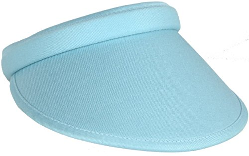 Kate Lord Women's Alexandria Visor, Seabreeze/seabreeze, One Size (Hats Ahead)