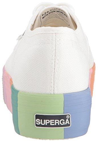 Superga Women's 2790 Cotmultifox Sneaker White limited edition online 0iLmw
