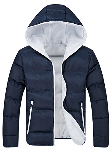 hooded quilted jacket - 4