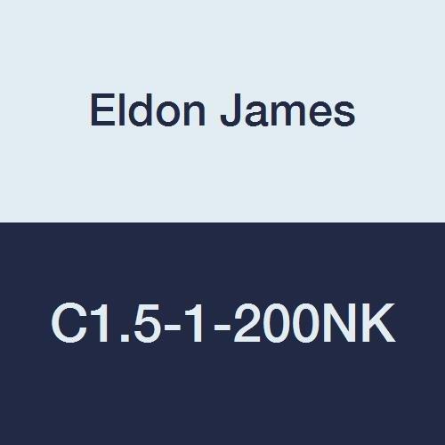 3//32 Hose Barb to 1//16Hose Barb Eldon James C1.5-1-200NK Natural Kynar Reduction Coupler Pack of 10