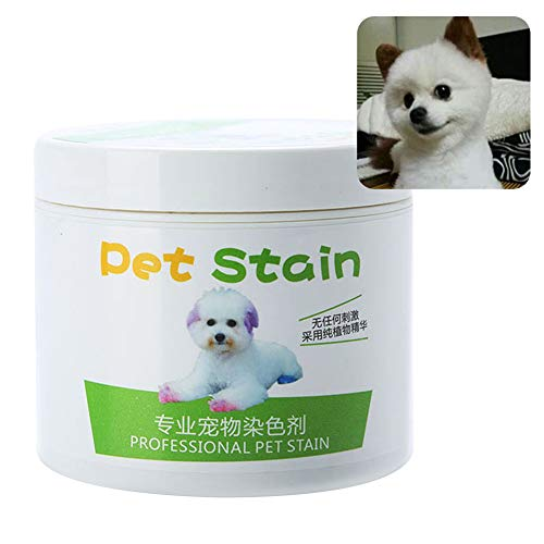 Braceus 100ml Professional Pet Stain Cat Dog Hair Dye Cream Coloring Agent for Stylish Pet Chocolate Brown