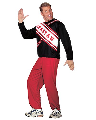 Plus Size Mens Theatre Costumes Mens Cheerleader Costume Spartan Guy Sizes: One Size
