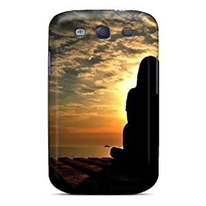 Slim Fit Tpu Protector Shock Absorbent Bumper Thinking 9829 Case For Galaxy S3