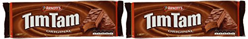 Arnott's Tim Tam | Full Size | Made in Australia | Choose Your Flavor (2 Pack) (Original Chocolate)