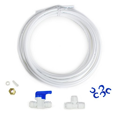 Olympia Water Systems Fridge and Ice Maker Connection Kit for Reverse Osmosis Systems - 1/4