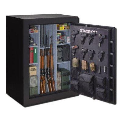 Stack-On E-69-MB-E-S Elite 51-69 Gun Safe with Electronic Lock, Matte Black
