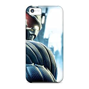 Snap-on Case Designed For Iphone 5c- Crysis Hd 1080p