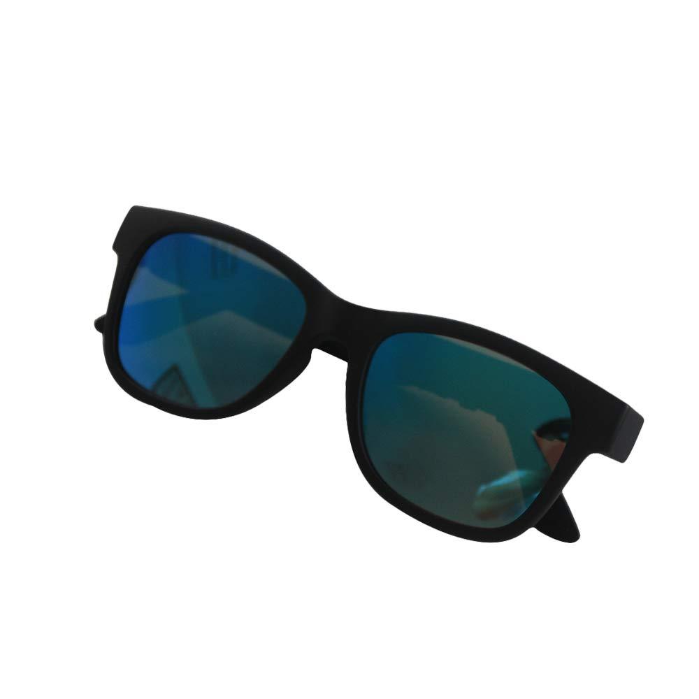 アップグレード版 骨伝導ヘッドセット 偏光スマートサングラス ステレオミュージックワイヤレスBluetoothメガネ 多機能ヘッドセット 補聴器 交換可能な近視レンズ   B07P2YFGJW