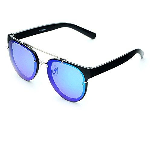 Con Sol Smileyes hombre Gafas Clásicas AC UV400 Colocción de Mujer para 21 2018 Casuales y Lente Nueva Personalizadas gRXYq