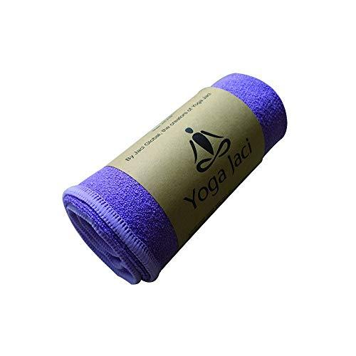 Yoga Hand Towel - Premium Microfiber Materials Edge Stitching - Durable and Long Lasting (Purple, 1 Hand Towel 24