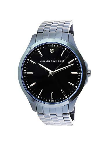 Armani Exchange Men's AX2184  Blue IP  Quartz Watch