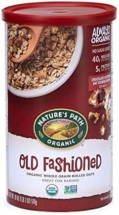 Oatmeal: Nature's Path Old Fashioned Oats
