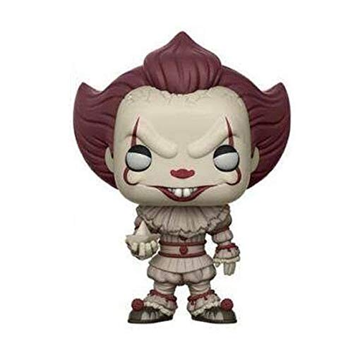 WOIA Stephen King's It Pennywise #472 Vinyl Figure Dolls Stephen King's It Action Figure Toys for Fans Birthday Gifts Holiday Must Haves Gift Ideas Girls Favourite Characters Toddler Superhero