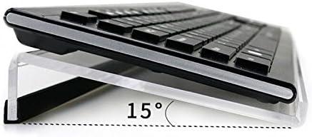 NewCrea - Soporte para teclado inclinado, ergonómico para ordenador, juegos y mecanografía
