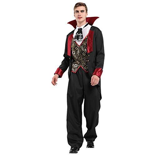 prbll Disfraz para Hombre gótico Vampiro Cosplay Disfraces ...