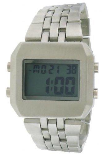 FMD Digital cuadrado de acero inoxidable para hombre reloj fmdmo111: Amazon.es: Relojes