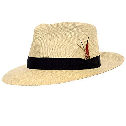 DelMonico Kevin Panama Hat-Natural-XL