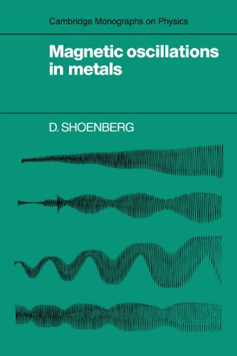 (Magnetic Oscillations in Metals (Cambridge Monographs on)