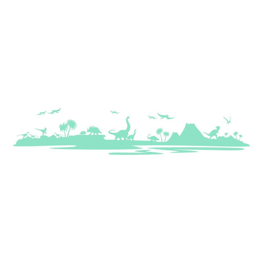 Azutura Dinosaurier-Landschaft Wandtattoo Jurassic Park Wand Sticker Kinder Kinder Kinder Schlafzimmer Haus Dekor verfügbar in 5 Größen und 25 Farben X-Groß Wolke Grau B00DOHCB62 Wandtattoos & Wandbilder aa8433