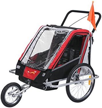 fixi Master Multifunktion 2 en 1 Remolque de bicicleta/Jogger bebé ...