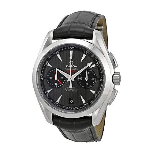 Omega Aqua Terra Chronograph Automatic Black Dial Men's Watch 23113435206001