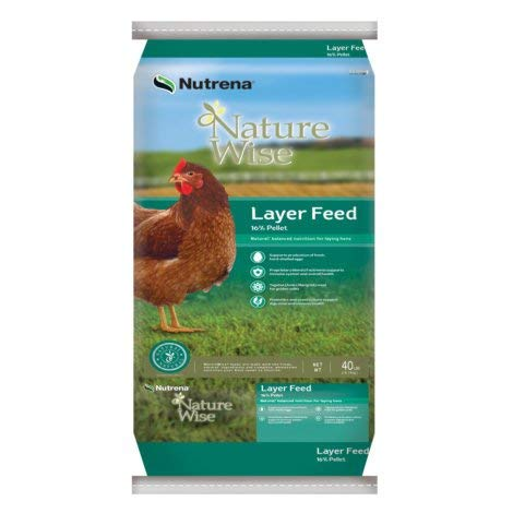 Nutrena Naturewise Layer 16% Feed - 40 Lb.