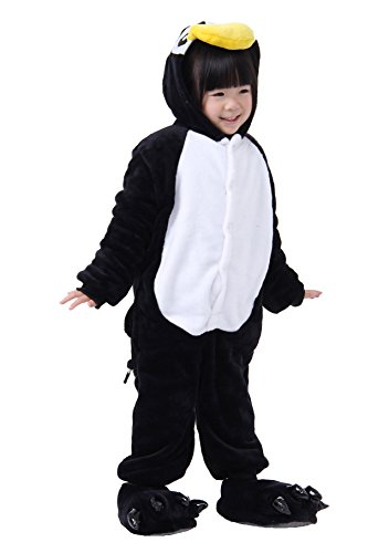 Baby Costumes Nz (FashionFits Kid's Unisex Pajama Jumpsuit Costume One Piece Penguin Cosplay 115)