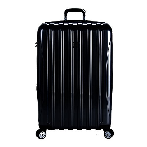 Two Pocket Fully Lined Tote (Delsey Luggage Helium Aero 29 Inch Expandable Spinner Trolley, One size - Black)
