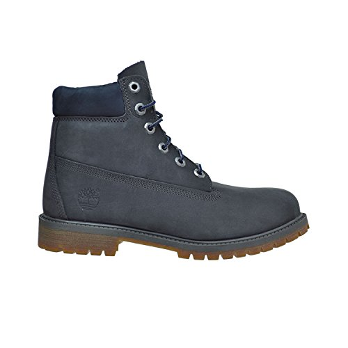 Timberland Kids Boy's 6'' Premium Boot (Big Kid) Forged Iron Waterbuck Boot 3.5 Big Kid M by Timberland