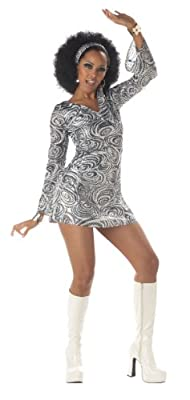 California Costumes Disco Diva Adult Costume-