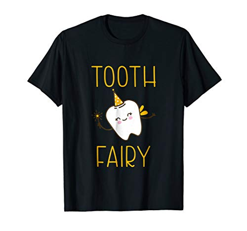 Tooth Fairy Shirt Halloween Costume Women Men Kids Outfit