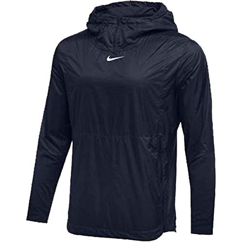 Navy Authentic Collection - Nike Mens Authentic Collection Lightweight Fly Rush Jacket Navy/White Size XXL