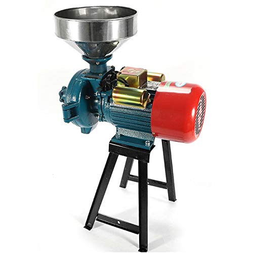 SLSY Commercial Grain Grinder Machine, Heavy Duty Electric Grain Mill Grinder 3000W 110V Feed Grain Mills