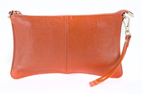 SupplyKick - Borsa a tracolla donna Marrone (Pumpkin Spice)