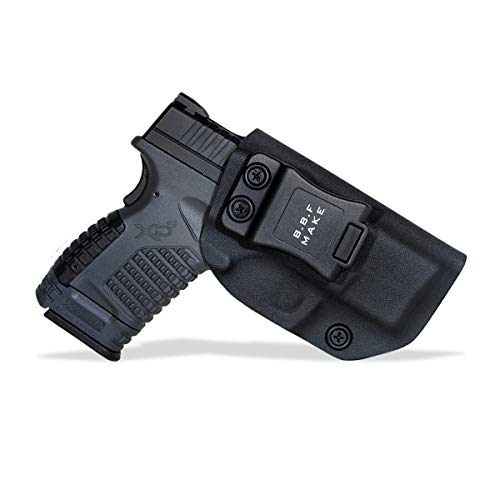 "B.B.F Make IWB KYDEX Holster Fit: Springfield XD-S 3.3"" 9mm/.40S&W/.45ACP 
