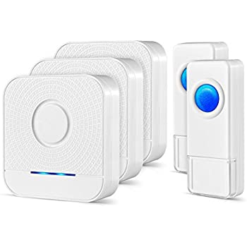 Security2020 Wc180 Wireless Door Chime With Flashing
